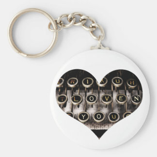 Geschriebenes Herz Schlüsselanhänger