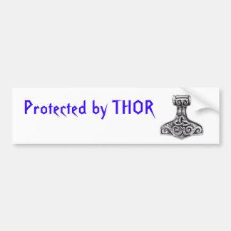 Geschützt durch Thor Autoaufkleber