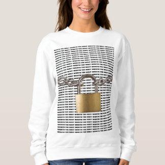 Geschützt/wert das Wartezeit Lang-Hülse Sweatshirt