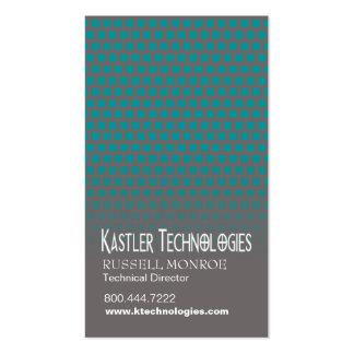 Geschwankter Quadrat-High-Techer Visitenkarten