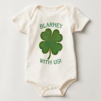 Geschwätz mit uns! baby strampler