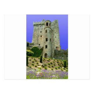 Geschwätz-Schloss Irland Postkarte