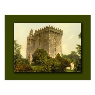 Geschwätz-Schloss. Landkreis-Korken, Irland-Karten Postkarte