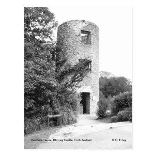 Geschwätz-Schloss-Turmpostkarte Postkarte
