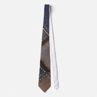 Geschweißtes Metall quadriert | einzigartige Krawatte