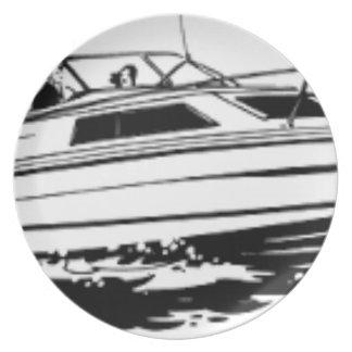 Geschwindigkeits-Boots-Kreuzer Teller