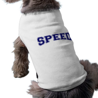 Geschwindigkeits-Hochschulart Shirt