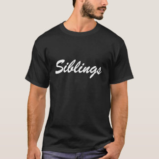 Geschwister T-Shirt