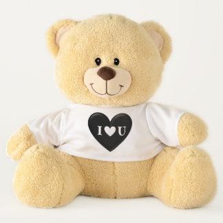 """Geschwollenes ` I Teddybär """"Herz-"""" U'"""