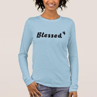 Gesegnet, 4 langarm T-Shirt