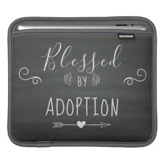 Gesegnet durch Adoption - Pflegesorgfalt, iPad Sleeve