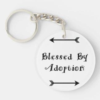 Gesegnet durch Adoption - Pflegesorgfalt Schlüsselanhänger