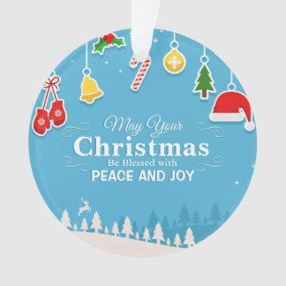 Gesegnet mit Verzierung des Friedens-u. Ornament
