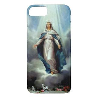Gesegnete Jungfrau Mary - heller Shine nach Ihnen iPhone 8/7 Hülle