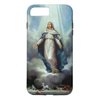 Gesegnete Jungfrau Mary - heller Shine nach Ihnen iPhone 8 Plus/7 Plus Hülle