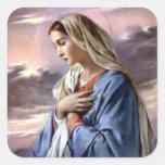 Gesegnete Jungfrau Mary - Mutter des Gottes Sticker