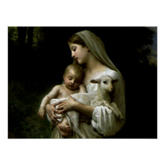 Gesegnete Jungfrau Mary - Mutter des Gottes Poster