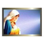 Gesegnete Jungfrau Mary und Säuglings-Kind Jesus Individuelle Einladung