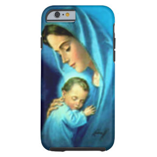 Gesegnete Jungfrau Mary und Säuglings-Kind Jesus Tough iPhone 6 Hülle