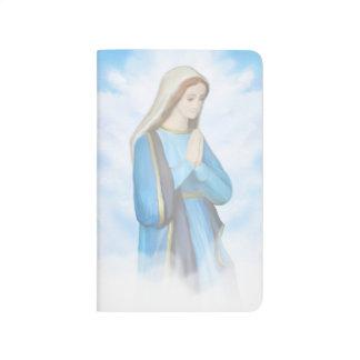 Gesegnete Jungfrau-Mary-Zeitschrift Taschennotizbuch