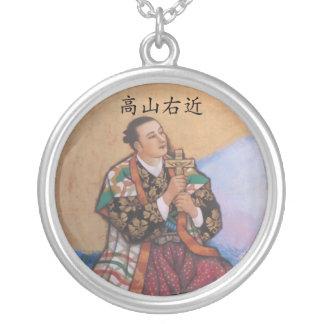 Gesegnete Ukon Takayama Halskette