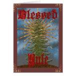 Gesegnete Weihnachten-Karte