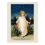 """""""Gesegnete Weihnachten"""" Vintage Weihnachtskarte Postkarten"""