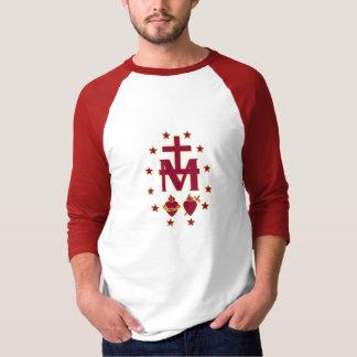 Gesegneter Jungfrau-Mary-Symbolismus T-Shirt