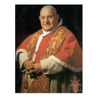 Gesegneter Papst Johannes XXIII. Postkarte