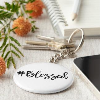 Gesegnetes Hashtag Schlüsselanhänger