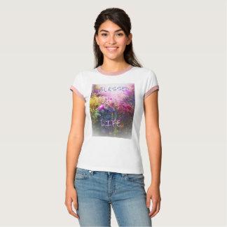 GESEGNETES LEBEN-ROSA-WECKER-T-SHIRT T-Shirt