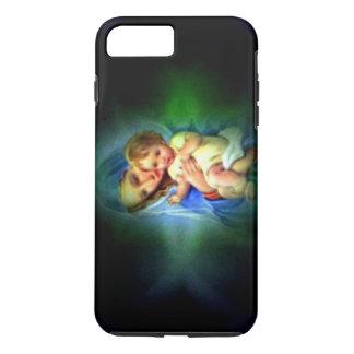 Gesegnetes Licht der Jungfrau Mary und des iPhone 8 Plus/7 Plus Hülle