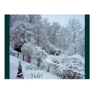 Gesegnetes Weihnachten Postkarte