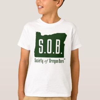 Gesellschaft des geborenen T-Shirts Kindes Oregons