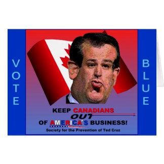 Gesellschaft für die Verhinderung von Ted Cruz Karte
