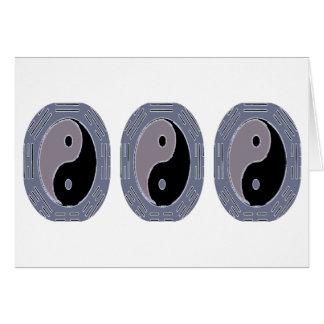 Gesetz der Anziehungskraft - Yin Yang Karte