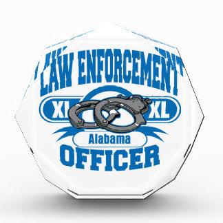 Gesetzeshüter fesselt Alabama mit Handschellen Acryl Auszeichnung