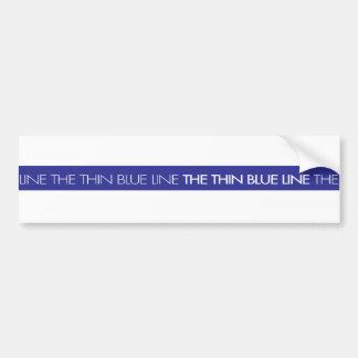 Gesetzesvollstreckung… dünne Blue Line Autoaufkleber