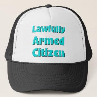Gesetzlich bewaffneter Bürger Truckerkappe