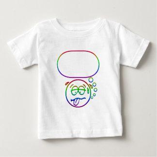 Gesicht #9 (mit Spracheblase) Baby T-shirt