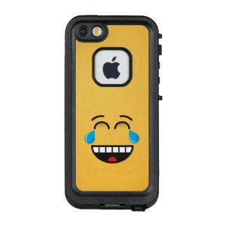 Gesicht mit Rissen der Freude LifeProof FRÄ' iPhone SE/5/5s Hülle