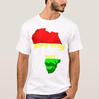 Gesicht von Afrika T-Shirt