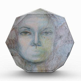 Gesichter Acryl Auszeichnung