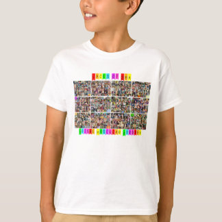 Gesichter von SMA - Tatsachen-Rückseite T-Shirt