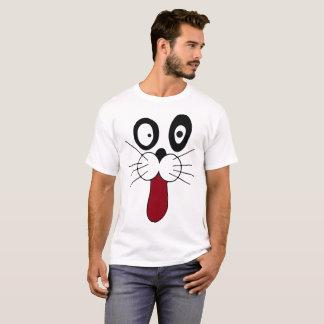 Gesichts-Cartoon reizend T-Shirt