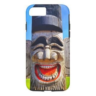 Gesichts-Foto der Zähne des Spaßes lächelndes iPhone 8/7 Hülle