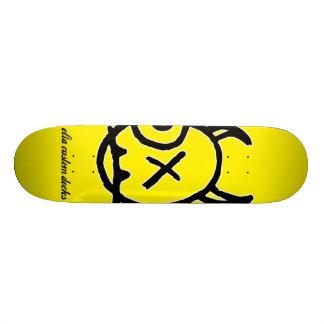 Gesichtslogoplattform 18,7 Cm Mini Skateboard Deck