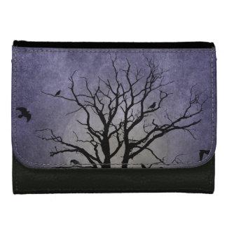 Gespenstische Baum-Halloween-Drucke