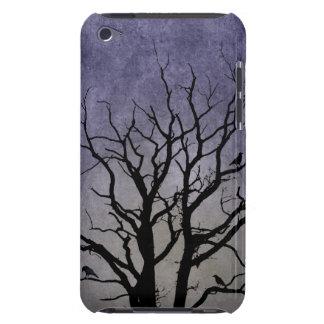 Gespenstische Baum-Halloween-Drucke Barely There iPod Case