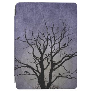 Gespenstische Baum-Halloween-Drucke iPad Air Cover